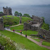 Urquhart Castle. These particular ruins date back to at least the early 1500s although a castle existed on this spot much earlier.
