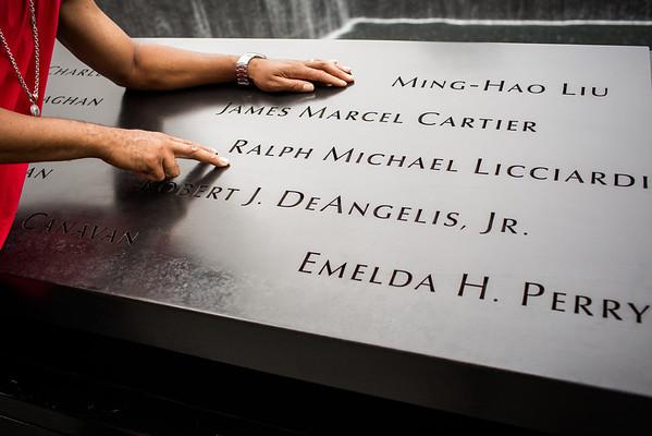 Sept 3, 2012: WTC Memorial