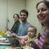 Erin and I thoroughly enjoyed the Taiwanese/Chinese food that Floyd and Annie treated us to during our visit