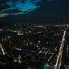 Taipei at night, as seen from the top of Taipei 101