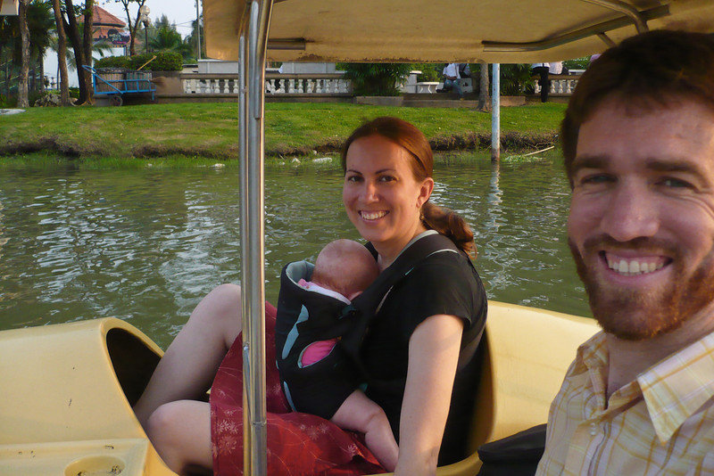 Erin and I enjoyed these pedal-boats during our final day in Bangkok