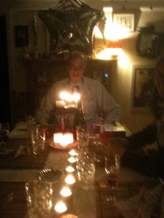 Tony - birthday supper - March 17, 2012