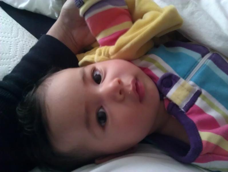 Sick baby. 4/30/12