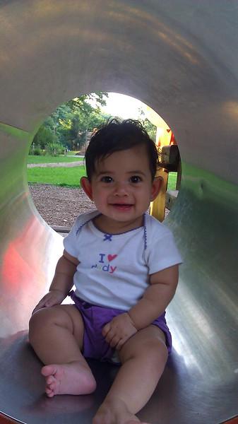 Fun at the playground!