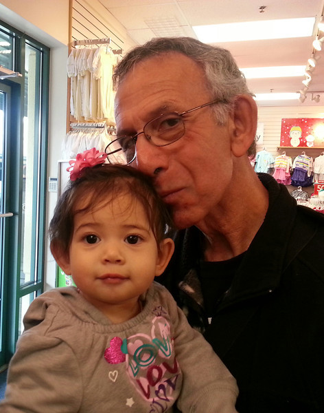 Shopping with grandpa