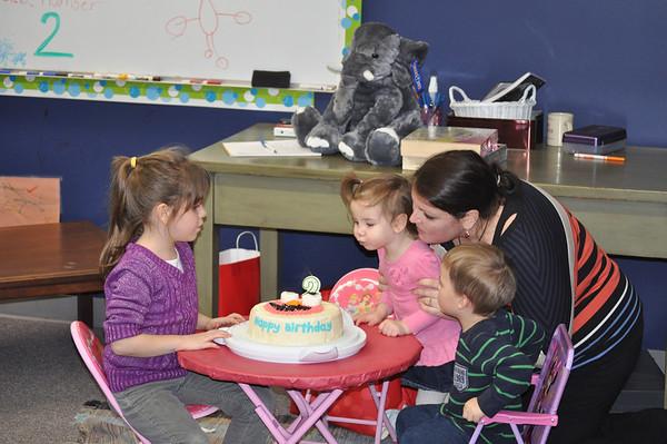 Zoey Antrobus Birthday Party  - Dec 2012