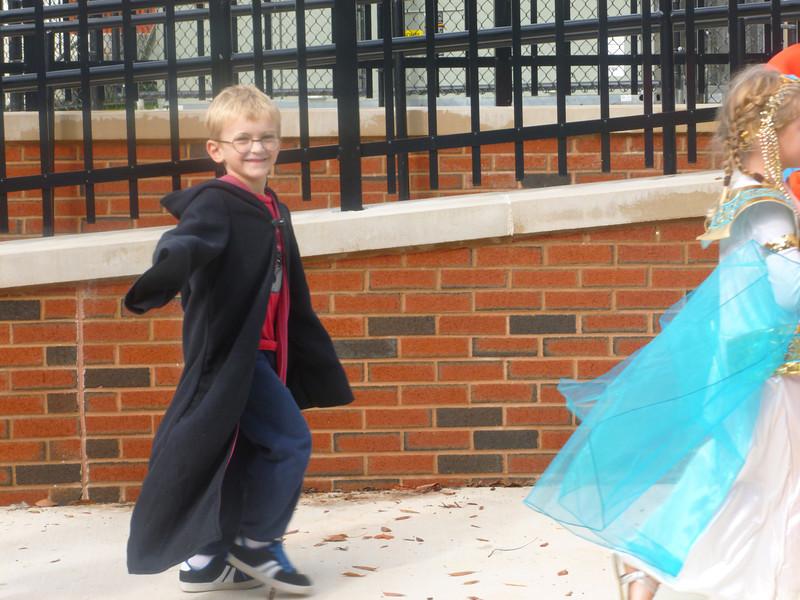Harry Potter Halloween 2012