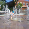 Hot in Fruita, Co but they had this fabulous run-through fountain 5/12