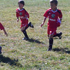 Cooper plays soccer for the first time in fall 2012