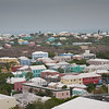 View from top of Bermuda cathedral