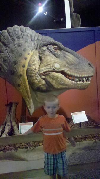 Dinosaur museum in Fruita, Colorado on our dinosaur adventure 5/12