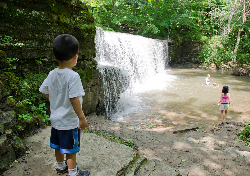 Hidden Falls, at Nerstrand-Big Woods State Park