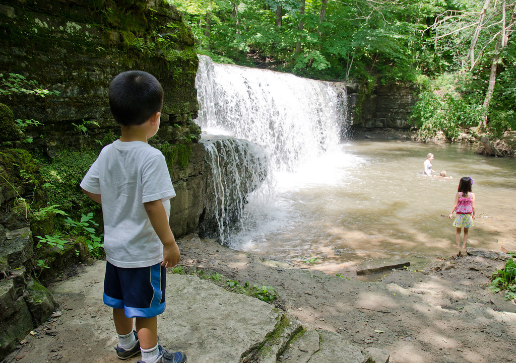 Hidden Falls, at Nerstrand-Big Woods State Park