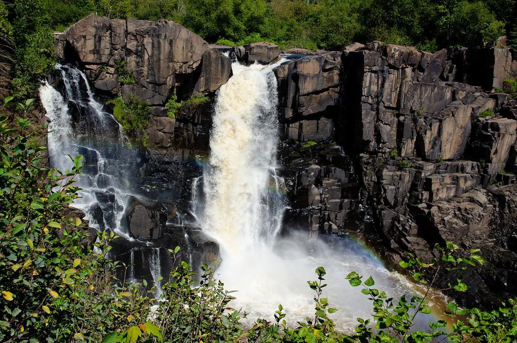 Falls at Grand Portage State Park