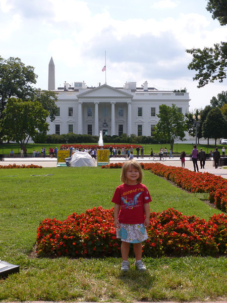 In front of the white house fall 2012!