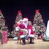 with Santa 12/15/12