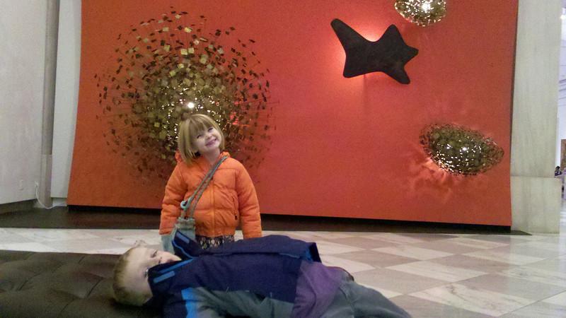 At the Naitonal Portrait Gallery Fall 2012.