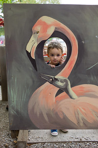 Hunter Grabiec at Scovill Zoo in Decatur, Illinois on August 12, 2012. (Jay Grabiec)