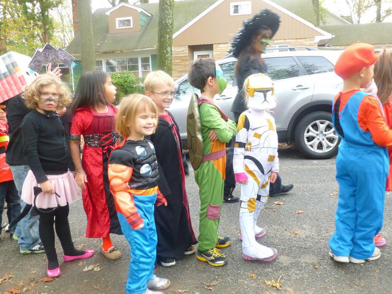 Halloween parade at Garrett Park Elementary School 2012.