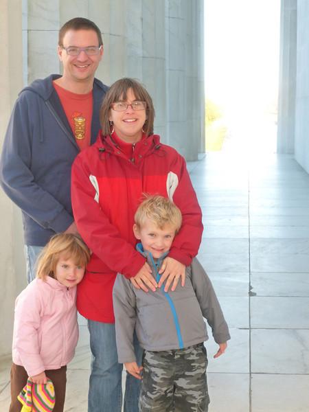 At Lincoln Memorial Fall 2012.