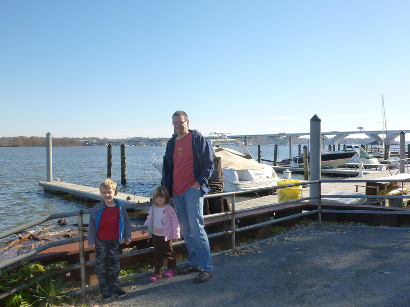 On the potomac river in Alexandria VA 2012