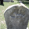 "This marker is believed to be that of Lily Elizabeth as from ""Amslers of Austin's Colony"":<br /> Since to left of this marker is Henry W. YEAGER, this is another clue that this is gravesite of Lily Elizabeth Amsler although the marker's engraving is deteriorated. <br /> 1. Lilly Elizabeth, first daughter of Louis<br /> Philip and Sophia (Flato) Amsler, was born<br /> 27 Jly 1870 and died 18 Sep 1896. According<br /> to her gravestone in the Flatonia<br /> Cemetery, she married Henry W. YEAGER,<br /> but had no children, relatives say"