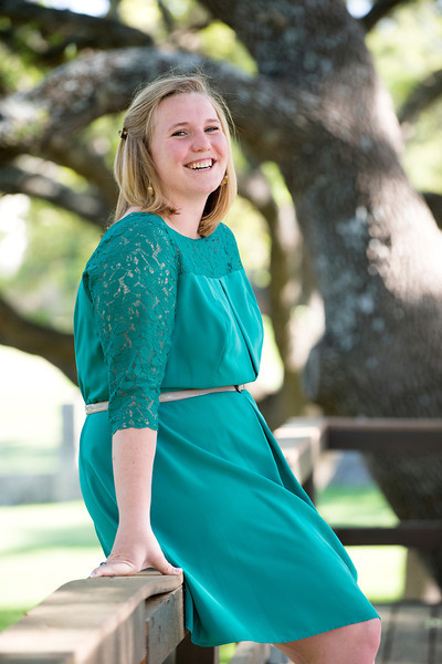 Laura Kim Presley's graduation portraits taken Thursday, April 11, 2013 in Boerne, Texas.