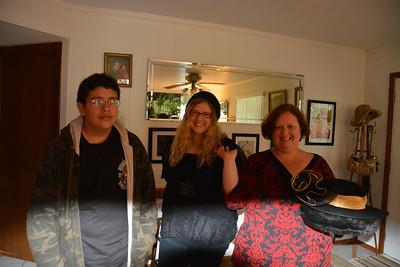 Tristan, Cecily and Mom Lori...