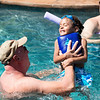 The children, stepchildren, and grandchildren of Lynn LeBouef gather at his home to celebrate his birthday with a pool party Saturday, August 17, 2013 in Spring, Texas.