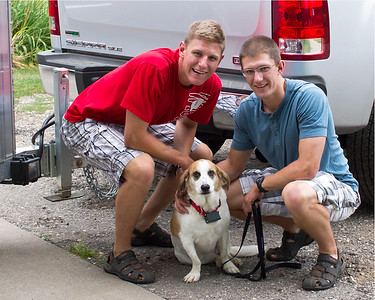 2013-08-28 Boys off to Madison