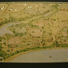 map of St. Mary's City, 1865<br /> watercolor by Walter Crowe, 1996