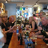 lunch afterwards, back in Lexington Park, in a local wine bar/sandwich shop