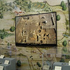 excavation of Van Swearingen's, with its location on a giant map of St. Mary's City on the wall inside the Visitor's Center