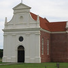 Brick Chapel of 1667<br /> <br /> This Roman Catholic chapel had its doors closed originally in 1704 by the governor.  305 years later, it was rebuilt on its original foundation.  It now serves as a synbol of liberty of conscience and separation of church and state, which were practiced in 17th century Maryland far in advance of the laws and practices of the other New World colonies.