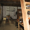 inside Smith's Ordinary- a recreation of an ordinary or inn typical of Maryland in late 1600s.