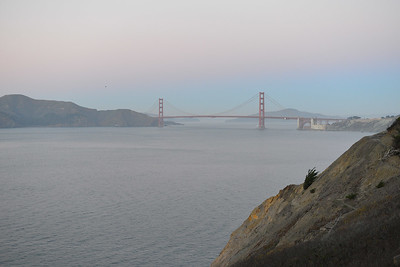 View of Golden Gate Bridge