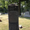 Not sure who this is - this is a family marker