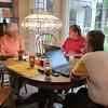 Frank, Ken and Doug Gould, Doug's home, Mooresville, NC, 9/29/2013