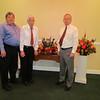 Ken, Frank, Doug, Funeral for Elaine Gould, Raymer Kepner Funeral Home, Mooresville, NC, 9/28/2013