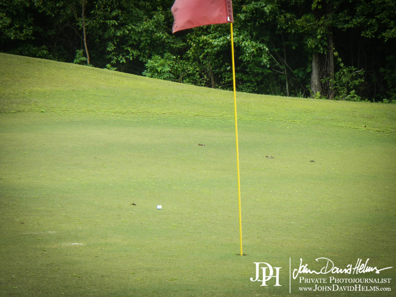 May 2, 2013 - John's first time at the course  in ~3-5 years, first shot on the first hole.