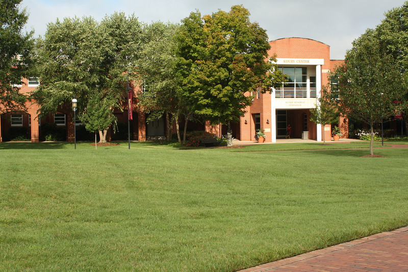 The athletic and recreation center.