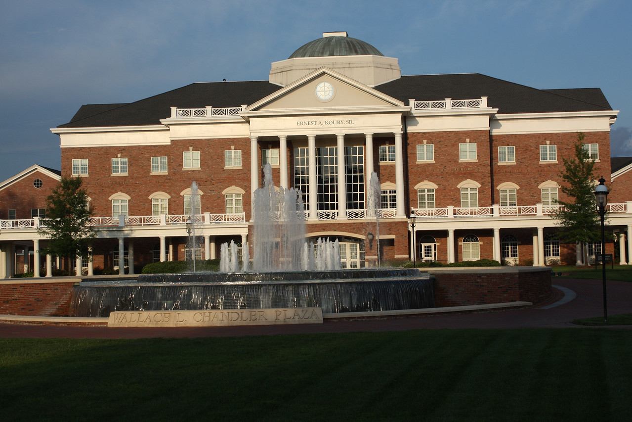 The Koury business center.