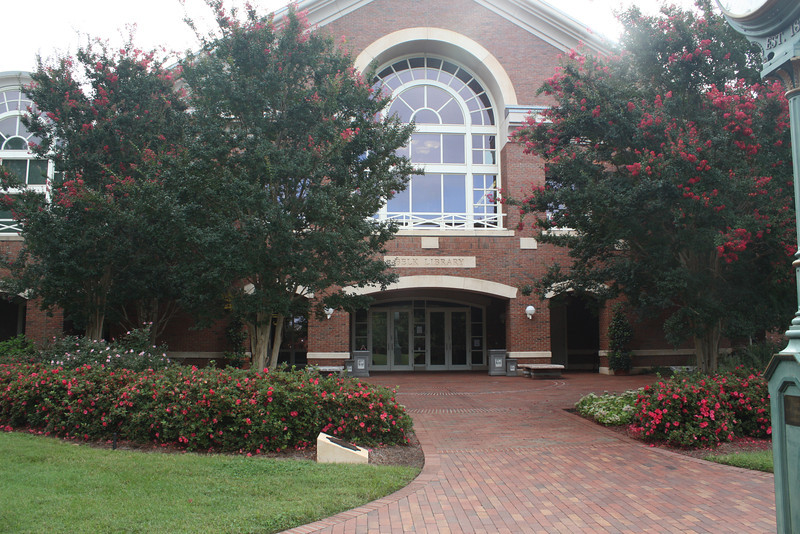 Belk Library; state of the art facilities, and beautiful inside as well.  Hopefully Katherine will be spending a lot of time here.
