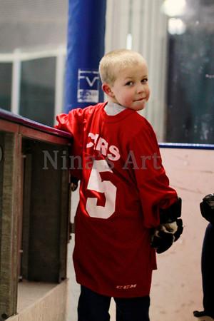 Cait & Chris Hockey Time