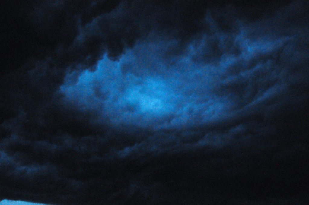 A hole in the Storm Clouds
