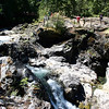A hike through Little Qualicum Falls Provincial Park.  This is one of many cataracts through the park.