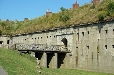 Fort Warren on Georges Island (Boston Harbor)