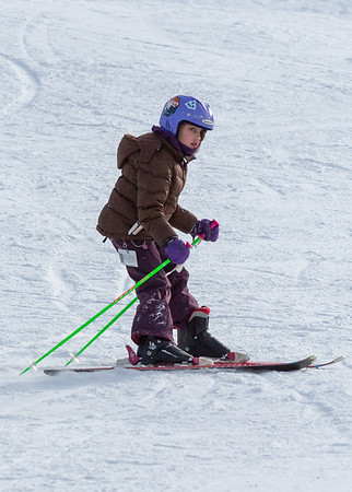 Skiing at Loon - January 21, 2013