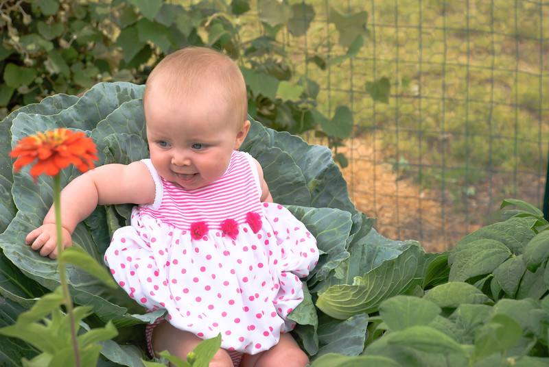 Opps, look we raised a cabbage patch kid...