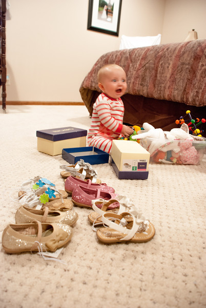 THE NEW IMELDA MARCOS, WITH THE START OF HER SHOE COLLECTION....